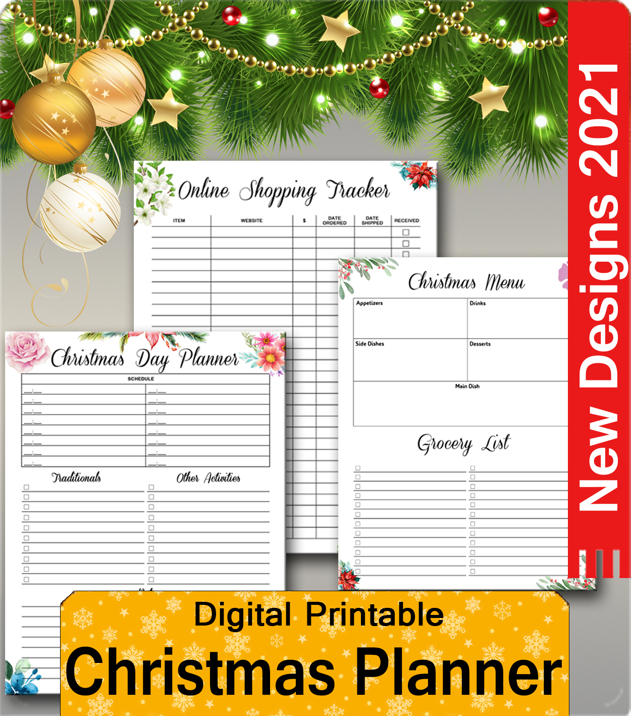 New Christmas Party Planners