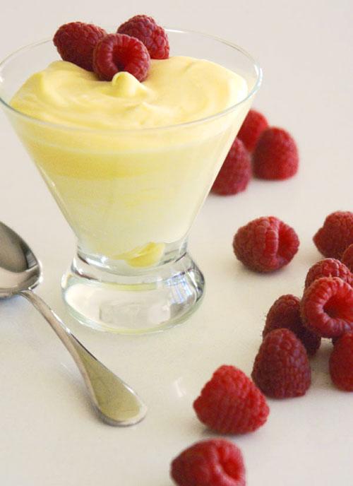 Angel Food Cake Lemon Glaze Recipe