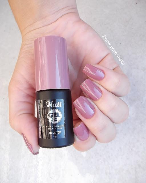 Esmalte Rosa Top - Nati Cosmetica