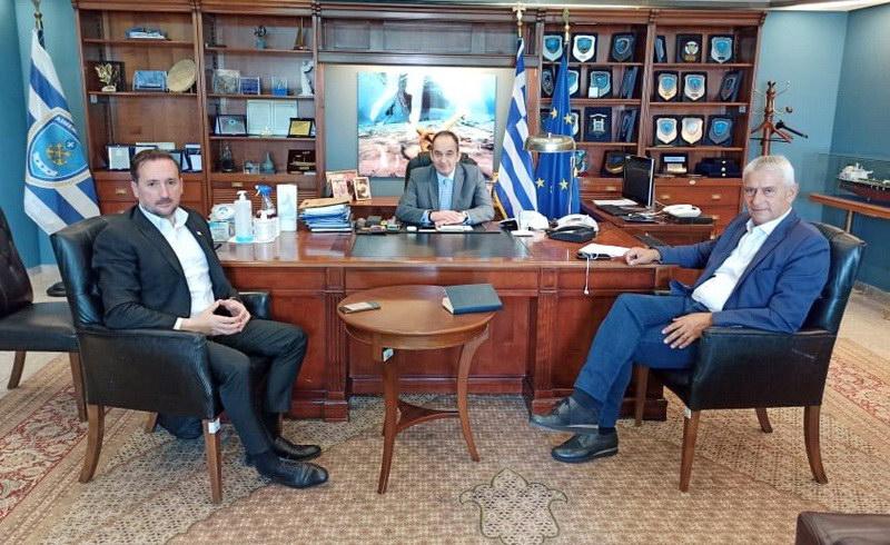 Συνάντηση του Δημάρχου Αλεξανδρούπολης με τον Υπουργό Ναυτιλίας