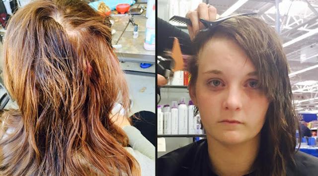 Одноклассники облили голову 15-летней девочки клеем, но она не сдавалась и защитила себя