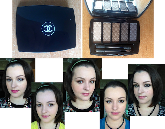 A Week with 1 Palette. Part 1: 5 Looks Using Chanel Ombres Matelassées De Chanel Eye-shadow Palette in Charming