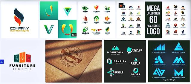 logo vector company keren siap edit