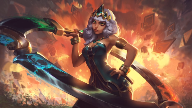 League of Legends: Empress Of The Elements - Qiyana Champion Teaser 2