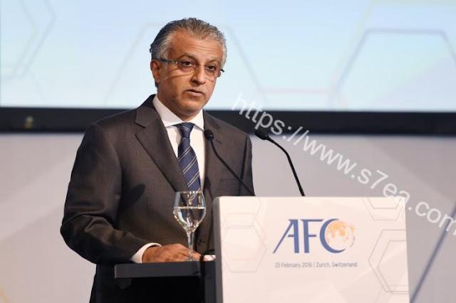 هل أحتفظ البحريني الشيخ سلمان بمنصب رئيس الأتحاد الأسيوي