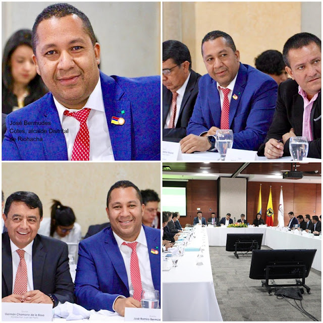 Alcalde de Riohacha elegido directivo de Asocapitales