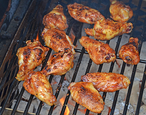 Smoked BBQ wing recipe