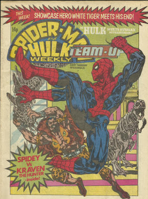 Spider-Man and Hulk Weekly #420, with Team-Up