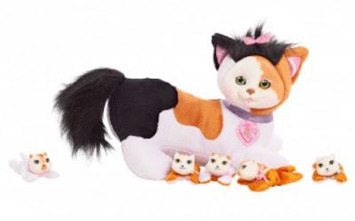 Кошечка Сиена и ее котята