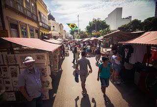 Feira Rio Antigo em ritmo de Copa do Mundo