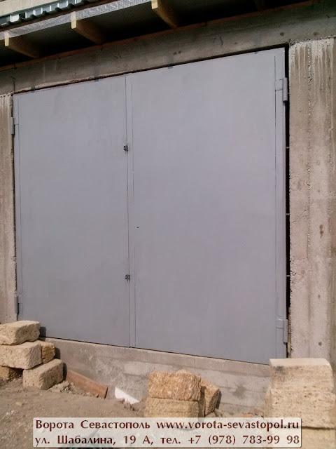 Купить гаражные ворота в Севастополе цены