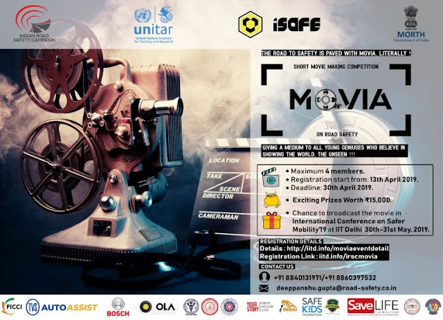 MOVIA-short movie making competition on road safety