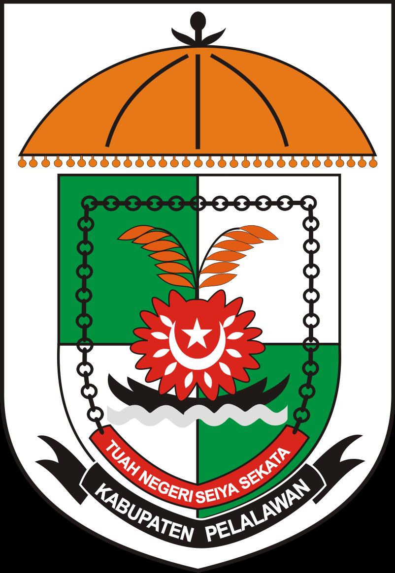 logo kabupaten pelalawan kumpulan logo lambang indonesia