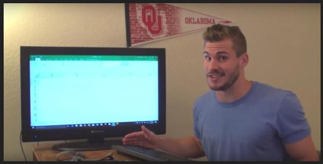 Konyol , Pria Ini Habiskan 9 Jam Hanya Untuk Mencari Tahu Akhir Baris dari Ms.Excel