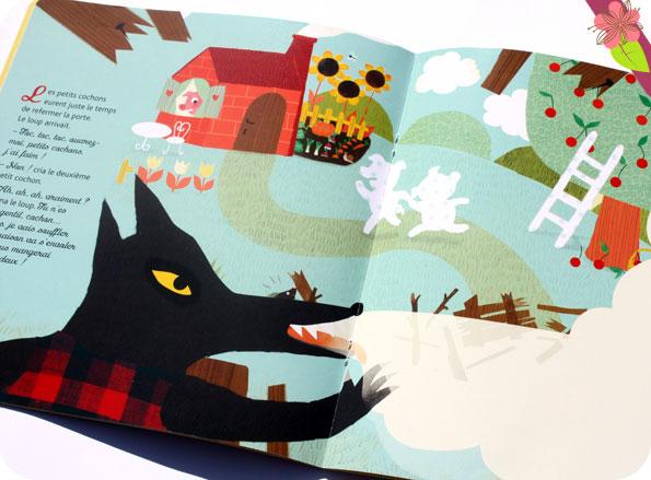 Mes contes préférés en stickers pailletés : Les trois petits cochons - Hatier jeunesse
