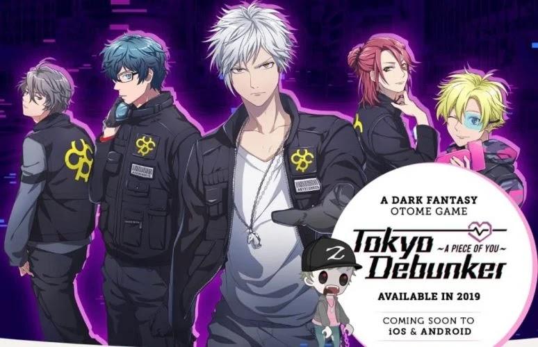 Tokyo Debunkers Pra Registrasi : Game Bergenre Visual Novel