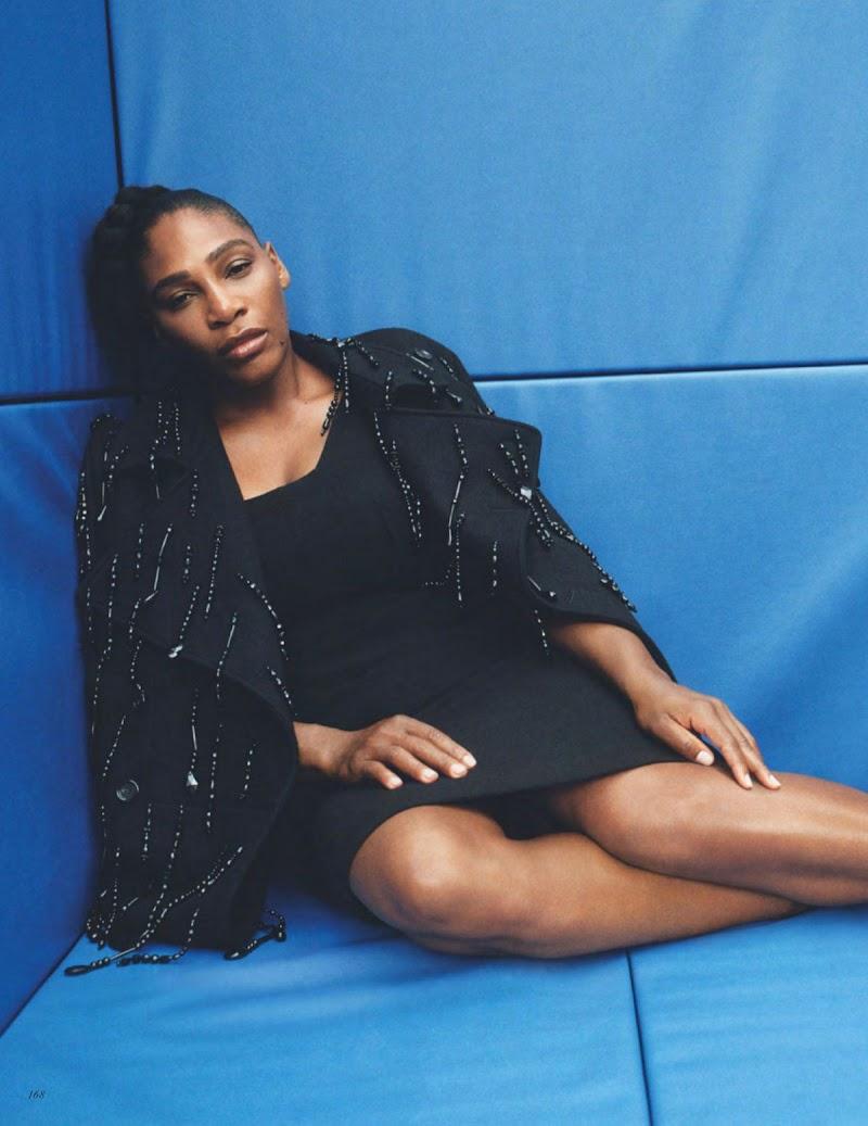Serena Williams Featured in Vogue Magazine - UK November 2020