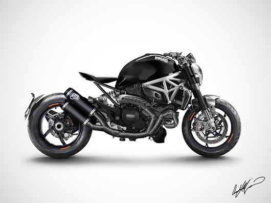 Ducati Monster Mock-Up :: Blasphemous or Bad Ass?