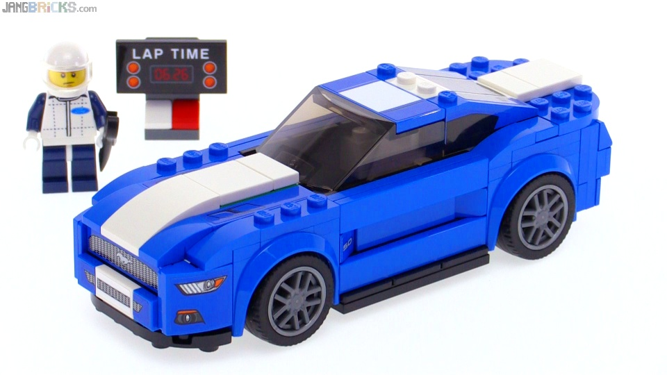 lego speed champions ford mustang gt review 75871. Black Bedroom Furniture Sets. Home Design Ideas