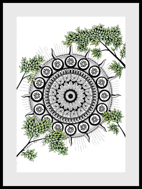 wiosenna mandala