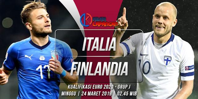Prediksi Bola Italia vs Finlandia Kualifikasi Euro 2020