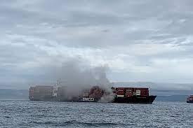 Cargo Ship Spews Toxic Gas Off Canadas Pacific Coast