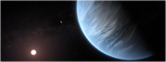 exoplaneta possui água, nuvens e chuva