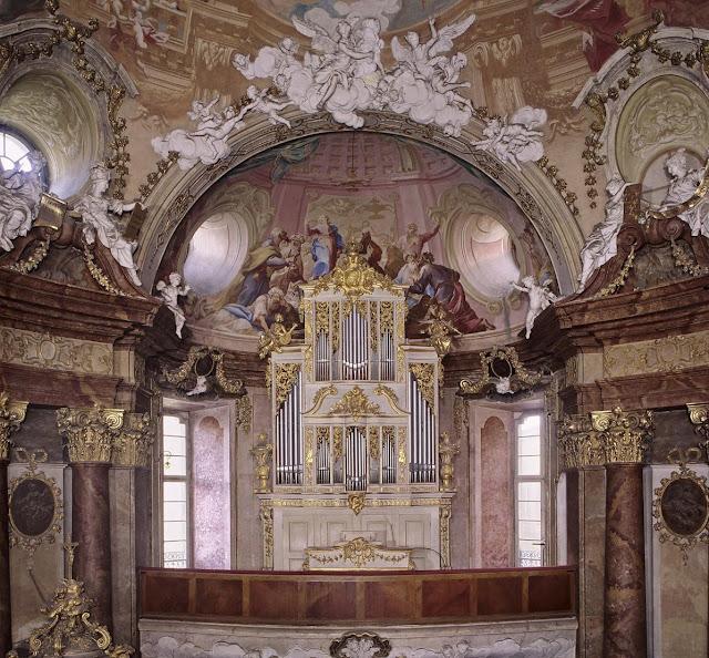 Ludwigsburg: palace chapel (Photo Steffen Hauswirth)