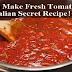 How To Make Homemade Tomato Sauce (Italian Secret Recipe!)
