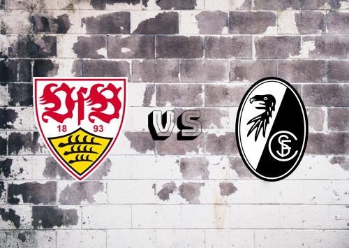Stuttgart vs Freiburg  Resumen