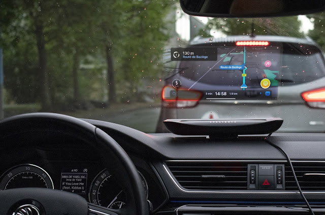 Eyelights - Holographic Car Assistant