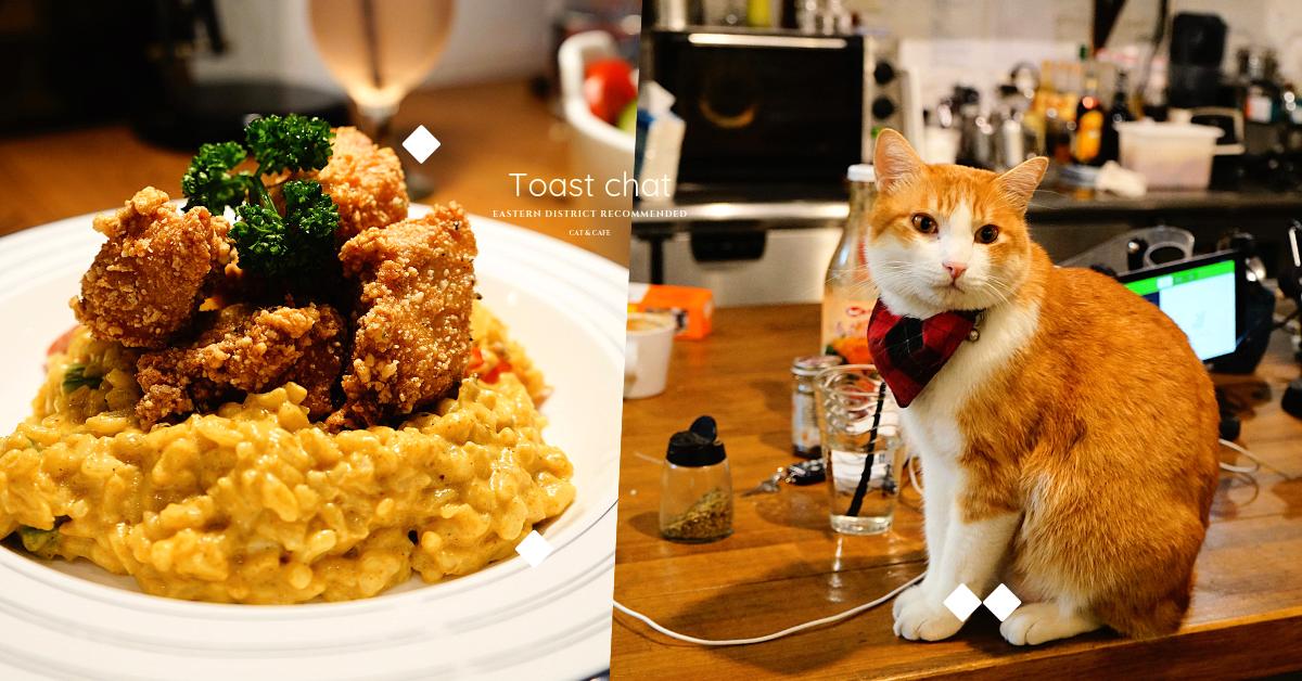 Toast Chat 東區貓咪餐廳|隱藏鬧區巷弄的文青早午餐