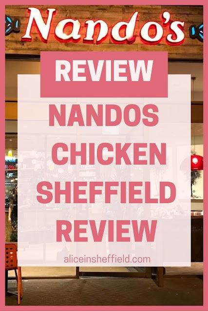 Nandos Sheffield Review