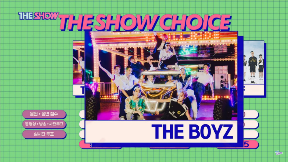 The Boyz' 'THRILL RIDE' Receive Its 1st Win on 'The Show'!