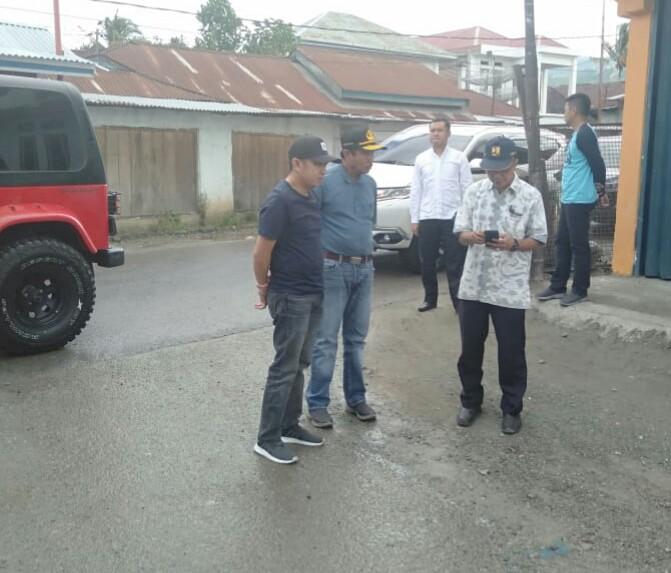Ketua DPRD Fikar Azami Tinjau Ruas Jalan dan Kebersihan Kota