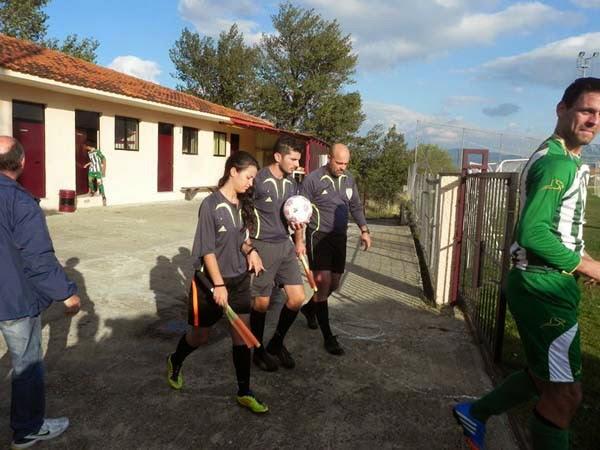 Φωτορεπορτάζ από τον αγώνα Ακαδημία Κάστορα – Πολυκάρπη 1-1