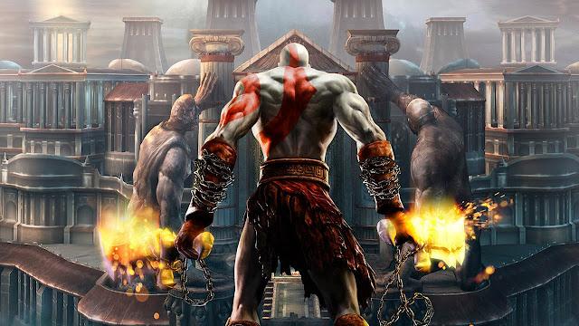 تحميل لعبة God of War 2 برابط مباشر