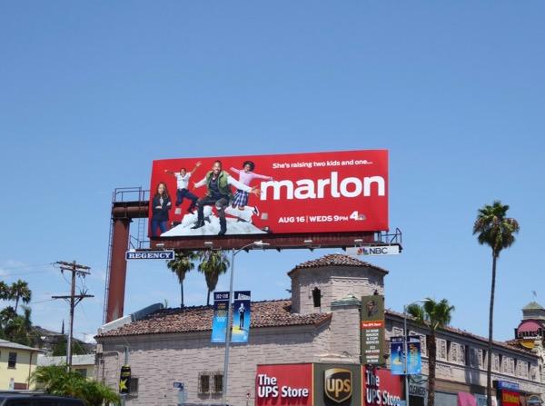 Marlon NBC sitcom billboard