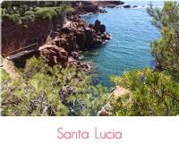 Le chemin des douaniers de Santa Lucia