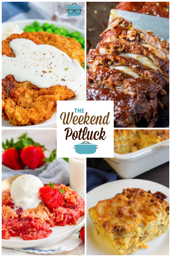 A virtual recipe swap with Chicken Fried Steak with Sawmill Gravy, Baked Fall Off The Bone Ribs, Fresh Strawberry Dump Cake, Sausage and Waffle Casserole and dozens more!