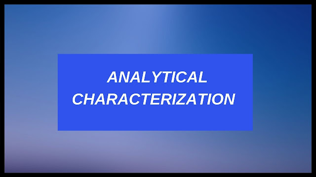 Analytical Characterization