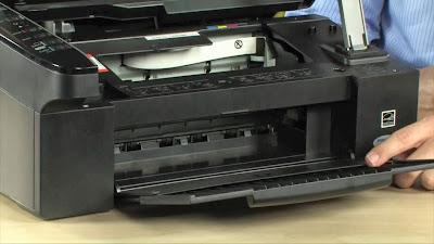 restablecimiento de las almohadillas de impresoras epson nx300