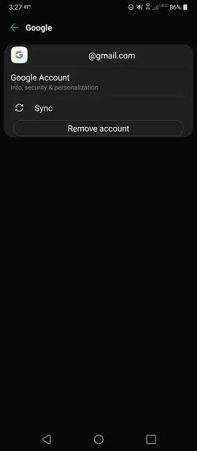Gmail لا يعمل هنا هل Fixes Account Press Sync