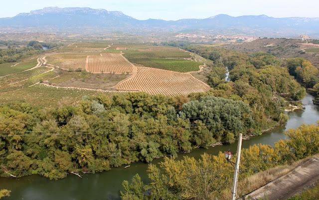 Briones, río Ebro, Logroño