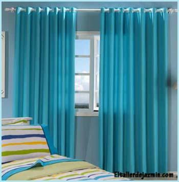 dormitorios cortinas cortinados textiles