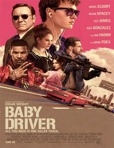 Ver El Aprendiz del Crimen (Baby Driver) (2017) Online