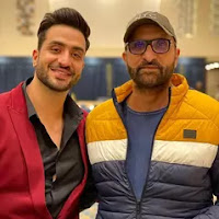 aly goni with here father