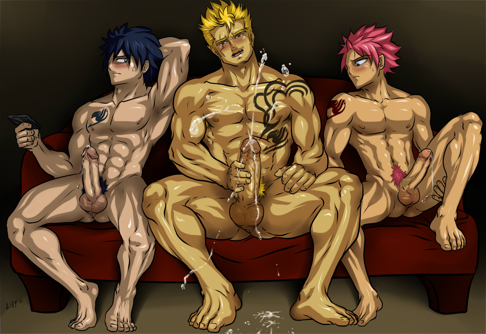 Very little boys naked