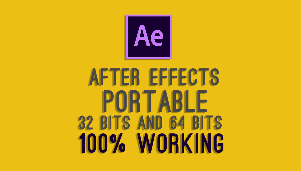 adobe after effects portable 32 bit free download