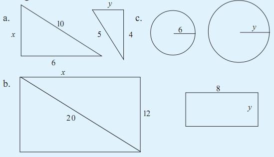 Contoh Soal Matematika SMP - Kesebangunan Dua Bangun Datar Kelas 9